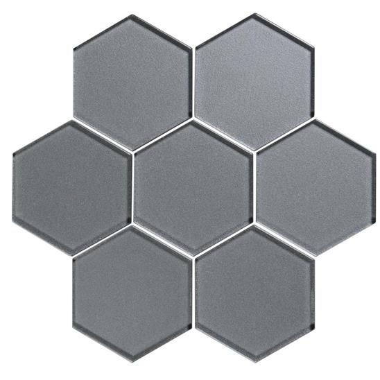 Erebos Metallic Hexagon Mosaics